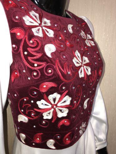 Платье на кыз узатуу одевали 1 раз сшито на заказ за 100$