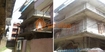 a strong 3.5 stories flat system house having land area 0-5-2-0, 4 in Kathmandu