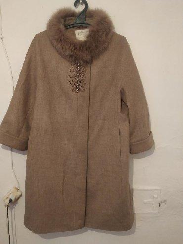 женск сапоги в Ак-Джол: Срочно продам пальто новый! Размер 48,50