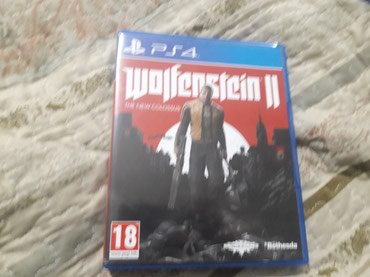 Wolfenstein The new colossus, ps4 в Бишкек
