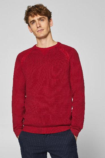 Pantalone edc esprit - Srbija: EDC ESPRIT džemper, crvene boje, veličina XXL - NOVOEDC ESPRIT
