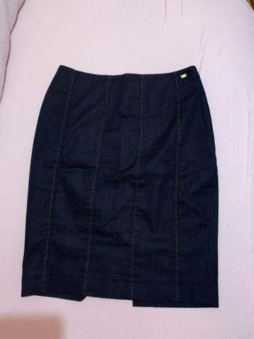 Kaput-teget-boje - Srbija: Suknja br38 nova AMC tamno teget boje