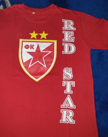 Cetnici sever - Srbija: Majica navijacka Crvena Zvezda - Red Star, delije sever. L velicina