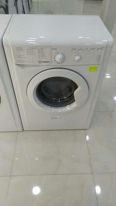 Siyəzən şəhərində İkitərəfli Avtomat Washing Machine Indesit 5 kq.