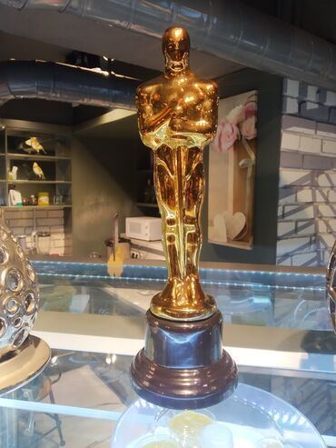 Статуэтки Оскар! Классное качество, керамика. Заказывал из Москвы