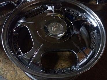 Комплект R18 разборных (хром) кованных дисков Lodio