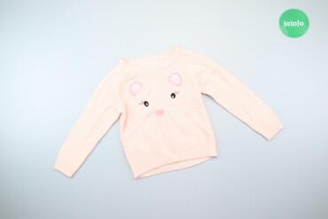 Детская одежда и обувь - Киев: Дитячий светр з принтом Cool Club, зріст 104 см    Довжина: 39 см Шири