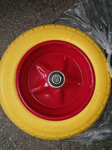 Tocak za kolica puna guma 3.50x8 Novo Tockovi su novi odlinocg su kval