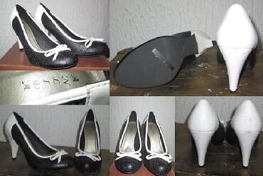 Crna sa masnom - Srbija: Ženska obuća 39