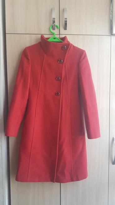 женские-пальто в Кыргызстан: Продаю пальто в отличном состоянии. Носила всего 3раза. Состояние