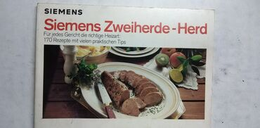 Siemens ef81 - Srbija: Knjiga:Siemens Zweiherde-Herd (Kuvar) 105 strr.21 cm.1990.nem
