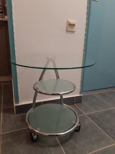 Nameštaj - Knjazevac: Stakleni sto