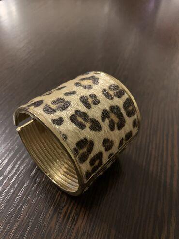 Новый модный браслет ( леопардовая нерпа), цена-450с