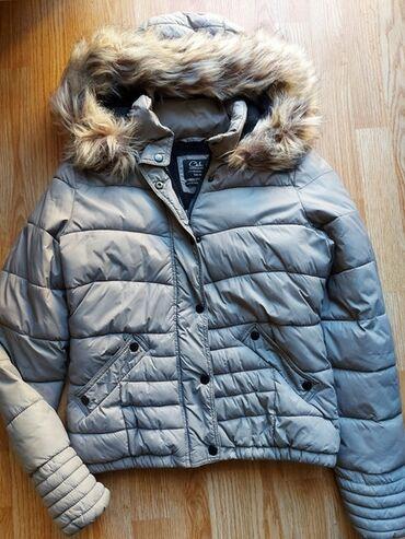 C&M pretopla zimska jakna sa velikom kapuljačom i masivnim krznom