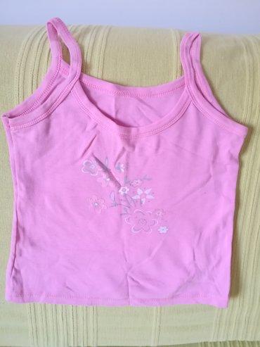 Dečiji Topići I Majice | Vranje: Kvalitetna pamučna majica na bratele roze boje vel 8, obim grudi 56