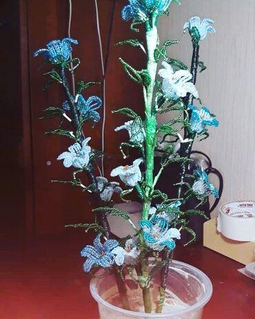 бисера в Кыргызстан: Цветы из бисера большие и вечные цветы любые на заказ делаем месяц