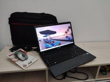 Электроника - Кыргызстан: Очень шустрый ноутбук,samsung,состояние идеальное .4х ядерный.Core