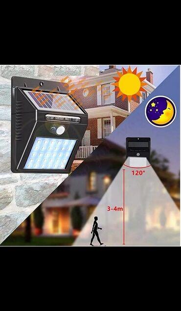 солнечные батареи купить в бишкеке в Кыргызстан: Солнечные лампы. LED. Датчик движения, датчик день, ночь