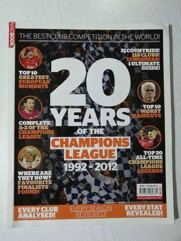 20 χρόνια αφιέρωμα στο Champions League. Περιέχει αναλυτικά όλα τα