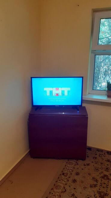 Телевизоры в Ак-Джол: ПРОДАЮ телевизор Hisense смарт тв интернет почти новый прошу 8000 сом