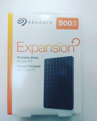 xarici sert disk - Azərbaycan: Seagate 500gb Xarici Hard disk 95aznTəzədir işləməyinə 6ay zəmanət