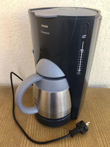 Кофеварка с термосом Philips, высота 35 см