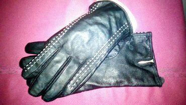 Sport i hobi - Sopot: Kozne rukavice, postavljene krznom