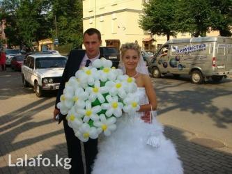 цветы и фигуры из шаров в Кыргызстан: Цветы,букеты,корзины и фигуры из шаров на любой праздник удивите своих