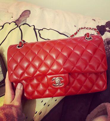Placena e - Srbija: Chanel crvena torba prva replika placena 300 e  Nosila sam je 3 puta k