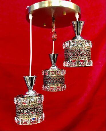 3 lampalı listura çilçıraq
