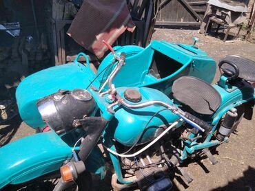 Другая мототехника в Ак-Джол: Мотоцикл Урал м63 66года выпуска в рабочем состоянии коробка чуть