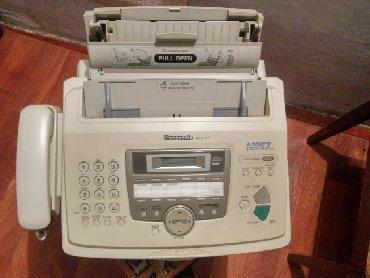 Телефон-телефон - Кыргызстан: Факс аппарат.договорн