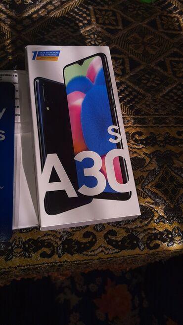 Новый Samsung A30s 32 ГБ Черный