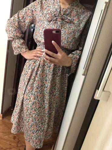 Продаю платье корейское! Пуговицы рабочие можно кормящим и беременным!