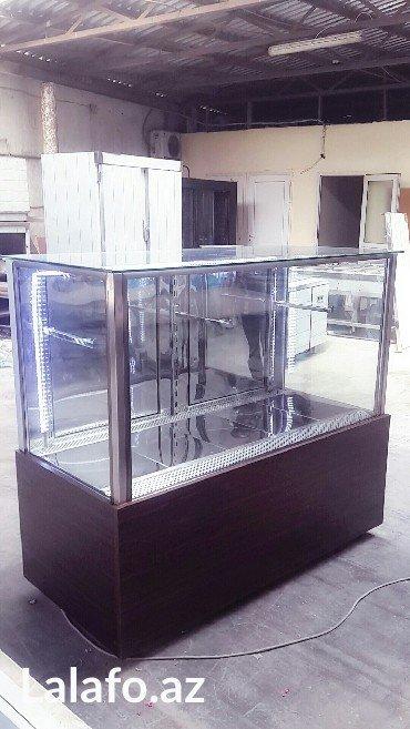 vitrin akvarium istenilen olcude ve catirilma munasib qiymete в Баку