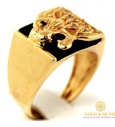 камень цезариния в Кыргызстан: Абсолютно новое золотое кольцо.проба 585. все камни черные