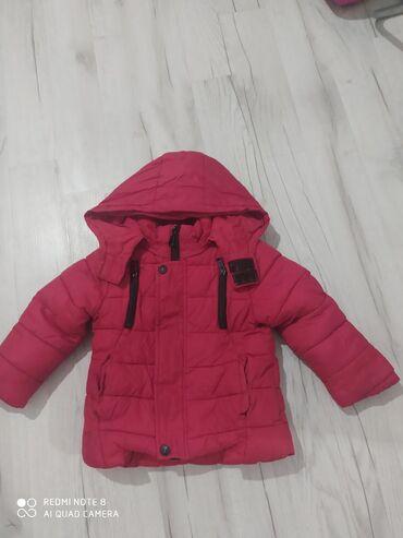 Детские флис - Кыргызстан: Продаю куртку теплую внутри флис, хорошего качества.в идеальном