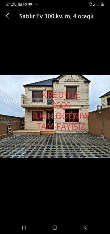 Kiraye evlerin kreditle satisi - Azərbaycan: Satılır Ev 50 kv. m, 2 otaqlı