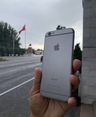 apple iphone 6 s в Кыргызстан: IPhone 6s 32 ГБ Серебристый