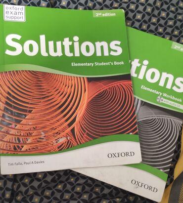 second hand obuv в Кыргызстан: Solutions Elementary SECOND EDITION В отличном состоянии