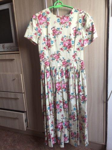 Очень красивое платье новое! ткань качественная! длина ниже колена в Лебединовка