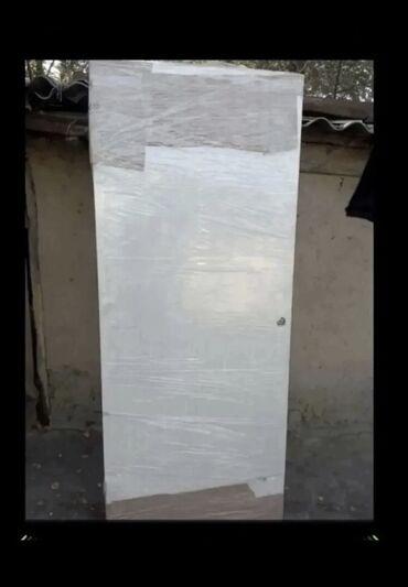 Двери межкомнатные ' привозной б/у из России ' глухой ширина 80 см '
