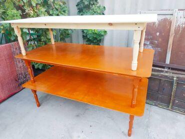 деревянная посуда в Кыргызстан: Выгодное предложение!!! Столы на заказ Национальные деревянные новые!