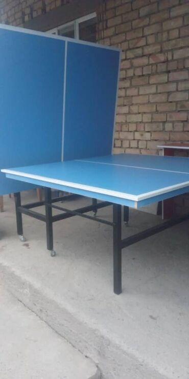 теннисная ракетка для настольного тенниса в Кыргызстан: Продаю новый теннисный стол международный стандарт ракетки шарики и
