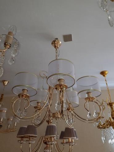 пояльные лампы в Кыргызстан: Люстра 5 ламп