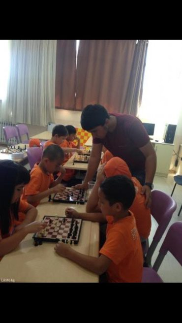 Тренер по шахматам! обучаю детей с 4 в Бишкек