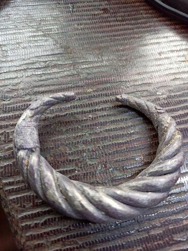 Цепочку и браслет - Кыргызстан: Браслеты старинный,серебро,вес-135 гр