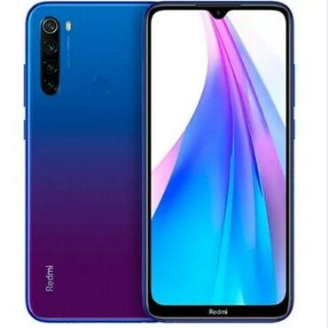 Samsung note 101 - Кыргызстан: Б/у Xiaomi Redmi Note 8 64 ГБ Синий