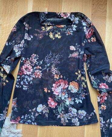 Bershka bluza - Srbija: Prelepa prozirna Bershka bluza