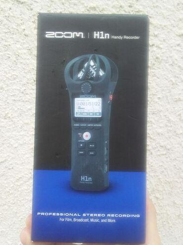 фотоаппарат canon 10 мегапикселей в Кыргызстан: Продам рекордер ZOOM H1N новый!!!срочно